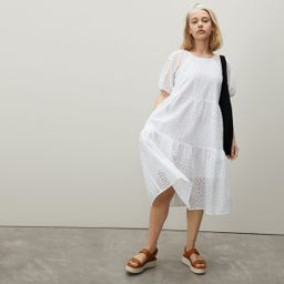 The Tiered Eyelet Dress | Everlane