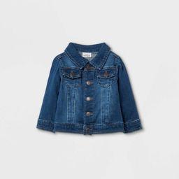 Baby Denim Jacket - Cat & Jack™ Blue | Target