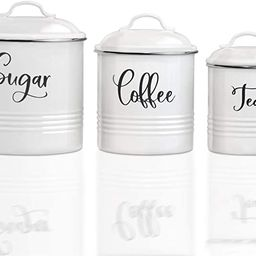 Home Acre Designs Collection Canister Sets For Kitchen Counter-Farmhouse Kitchen Decor-Rustic Kit...   Amazon (US)