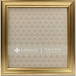 Lawrence Frames 536288 8x8 Sutter Burnished Gold Picture Frame | Amazon (US)