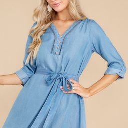 The Perfect Day Chambray Dress | Red Dress