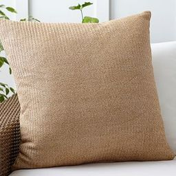 Faux Natural Fiber Indoor/Outdoor Pillow   Pottery Barn (US)