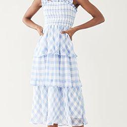 Gingham Check Dress   Shopbop