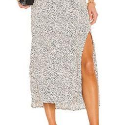 Sanctuary Good Times Midi Skirt in Teeny Spots from Revolve.com | Revolve Clothing (Global)