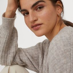Knitted jumper | H&M (UK, IE, MY, IN, SG, PH, TW, HK, KR)