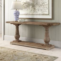 Hinsdale 70.875'' Solid Wood Console Table | Wayfair North America