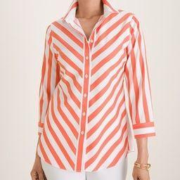 Stretch Cotton-Blend Shirt | Chico's