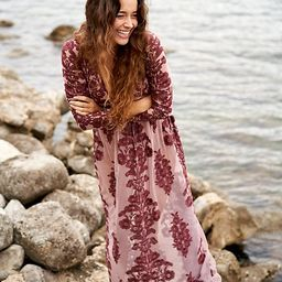 Temecula Maxi Dress by For Love & Lemons at Free People, Berry, S | Free People (US)