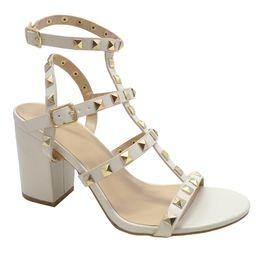 Wild Diva brand Susie20 Women's Peep Toe Studded Strappy High Heel Leather Pumps Stilettos Sandal...   Walmart (US)