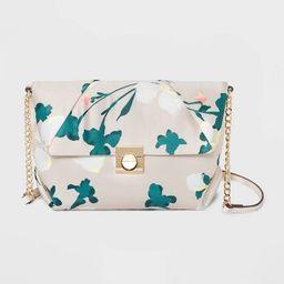 Floral Print Snap Closure Crossbody Bag - A New Day™ | Target