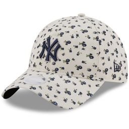Women's New York Yankees New Era Cream Floral 9TWENTY Adjustable Hat | MLB Shop