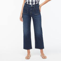 Slim-wide patch-pocket jean in anchor wash | J.Crew Factory