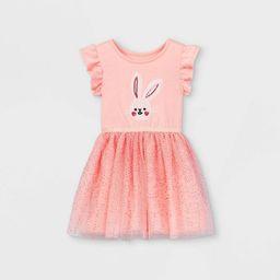 Toddler Girls' Sequin Bunny Tulle Dress - Cat & Jack™ Pink | Target
