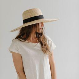 Gwen Wide Brim Sun Hat | Gigi Pip