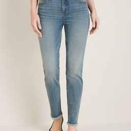 Frayed-Hem Girlfriend Ankle Jeans | Chico's