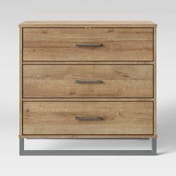 Mixed Material 3 Drawer Dresser Natural - Room Essentials™   Target