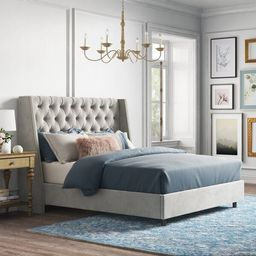 Improv Upholstered Standard Bed   Wayfair North America