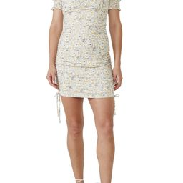 Ruched Floral Minidress | Nordstrom