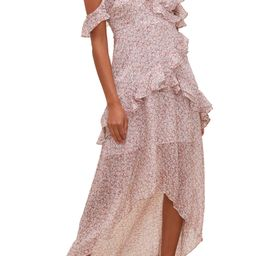 High/Low Tiered Ruffle Maxi Dress | Nordstrom