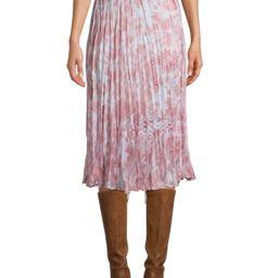 Time and Tru Women's Midi Crinkle Skirt   Walmart (US)