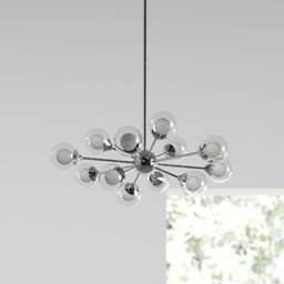 12 - Light Sputnik Sphere Chandelier | Wayfair North America