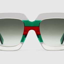 Gucci Square-frame acetate sunglasses | Gucci (US)