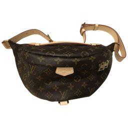 Louis Vuitton Bum Bag / Sac Ceinture Brown Cloth Clutch bags   Vestiaire Collective (Global)