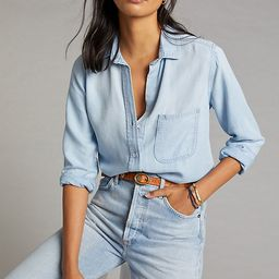 Cloth & Stone Valley Chambray Buttondown | Anthropologie (US)