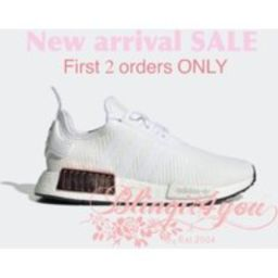 Sale Swarovski Crystal White Adidas Nmd Shoes Bling Running Shoes Diamond Custom Make Gift For Her | Etsy (US)
