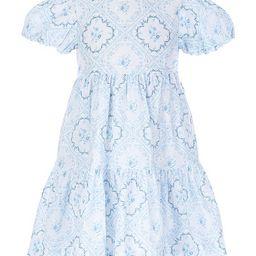 x Born On Fifth Little Girls 2T-6X Floral Tile Print Dress   Dillards