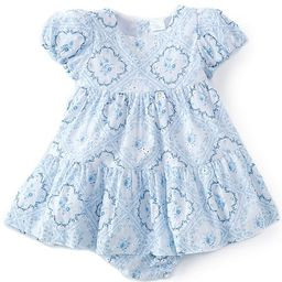 x Born On Fifth Baby Girls 12-24 Months Floral Tile Print Dress   Dillards