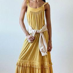 Britt Tiered Midi Dress   Anthropologie (US)