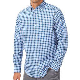 Men's Gingham Stretch-Poplin Shirt | Macys (US)