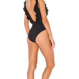 eberjey So Solid Loreta One Piece in Black from Revolve.com | Revolve Clothing (Global)