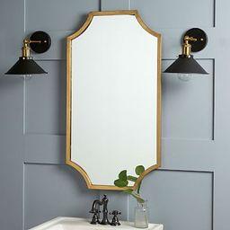 Scalloped Edge Mirror   West Elm (US)
