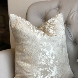 Luxury Champagne Floral Texture Pattern High Quality Modern Handmade Cushion Cover   Etsy (US)