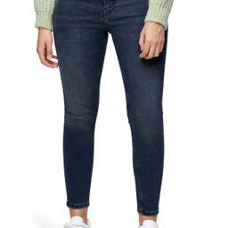 Petite Women's Topshop Jamie High Waist Skinny Jeans, Size 27 - Black | Nordstrom