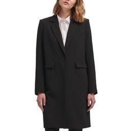 Womens Small Long Single Button Blazer Jacket S | Walmart (US)
