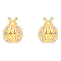 Baby Lucky Ladybug Single Diamond Stud Earring | Nordstrom