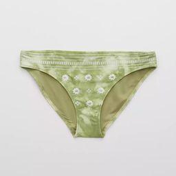 Aerie Embroidered Bikini Bottom | American Eagle Outfitters (US & CA)