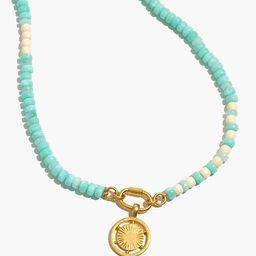 Spokeshine Carabiner Beaded Necklace   Madewell