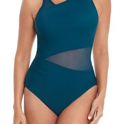 Illusionists Azura Underwire One-Piece Swimsuit | Nordstrom