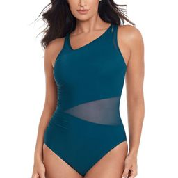 Azura Mesh Underwire Asymmetrical One Piece Swimsuit | Everything But Water