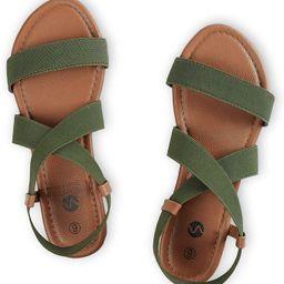 Rekayla Flat Elastic Sandals for Women   Amazon (US)