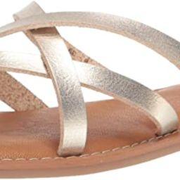 Amazon Essentials Women's Strappy Slide Flat Sandal | Amazon (US)