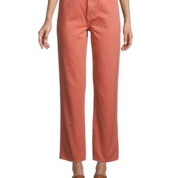 Jules High-Rise Straight Jeans | Saks Fifth Avenue OFF 5TH