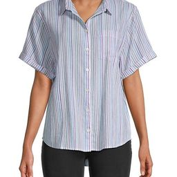 Chronicle Striped Shirt | Saks Fifth Avenue OFF 5TH