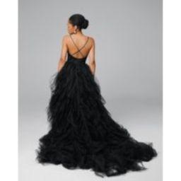 Black Bridal Dress, Tulle Wedding Princess Made To Measure Dress , Romantic, Open Back, Martina   Etsy (US)