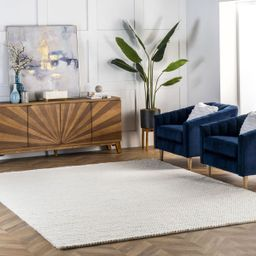 Off White Braided Area Rug | Rugs USA