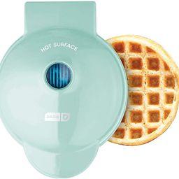 Machine for Individual, Paninis, Hash Browns, & other Mini waffle maker, 4 inch, Aqua - New | Amazon (US)